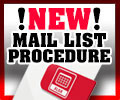 Mailinglist Procedure